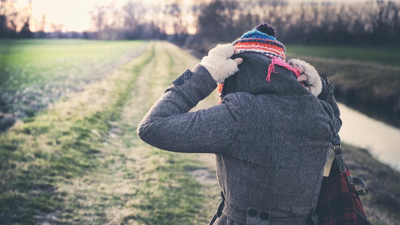 Do záhrady sa v zime dobre oblečte